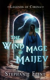bargain ebooks The Wind Mage of Maijev YA Epic Fantasy by Stephanie Flint