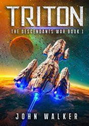 bargain ebooks Triton Colonization Science Fiction by John Walker