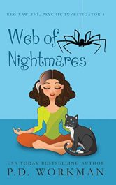 bargain ebooks Web of Nightmares Paranormal Cozy Mystery by P.D. Workman