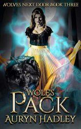 bargain ebooks Wolf's Pack: Reverse Harem Werewolf Shifter (Wolves Next Door Book 3) Romantic Fantasy by Auryn Hadley