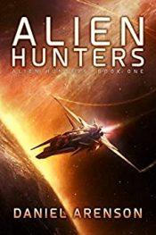 bargain ebooks Alien Hunters Space Opera Adventure by Daniel Arenson