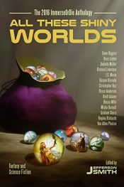 amazon bargain ebooks All These Shiny Worlds Science Fiction by Multiple Authors