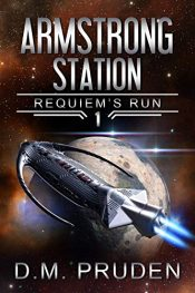 bargain ebooks Armstrong Station Science Fiction by D.M. Pruden