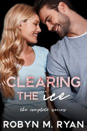 bargain ebooks Clearing the Ice Box Set New Adult Sports Romance by Robyn M. Ryan