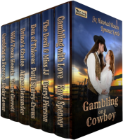 bargain ebooks Gambling on a Cowboy - Six-Novel Boxed Set Western Romance by Kaye Spencer