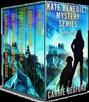 bargain ebooks Kate Benedict Mystery Series Vol. 1-5 (The Kate Benedict Series)Mystery by Carrie Bedford