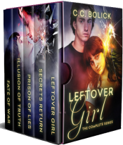 bargain ebooks Leftover Girl: The Complete Series Young Adult/Teen Science Fiction/Mystery by C.C. Bolick