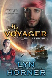 bargain ebooks My Voyager Time Travel Western Romance by Lyn Horner