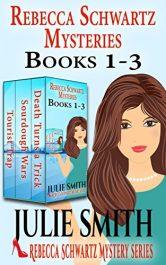 bargain ebooks Rebecca Schwartz Mysteries 1-3: Three Funny Cozies Mystery by Julie Smith