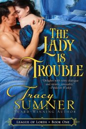 bargain ebooks The Lady Is Trouble Steamy, Victorian, Paranormal Romance by Tracy Sumner