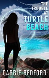 bargain ebooks The Trouble at Turtle Beach: A Kate Benedict Paranormal Mystery Paranormal Mystery by Carrie Bedford