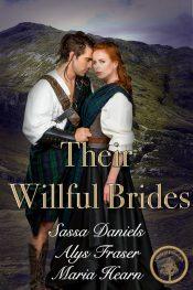 bargain ebooks Their Willful Brides Historical Romance by Sassa Daniels