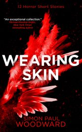 bargain ebooks Wearing Skin Horror by Simon Paul Woodward