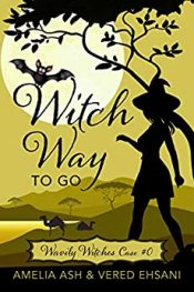 bargain ebooks Witch Way To Go Cozy Mystery by Amelia Ash & Vered Ehsani