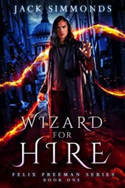 bargain ebooks Wizard For Hire Comedy Horror by Jack Simmonds