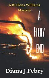 bargain ebooks A Fiery End Police Procedural Mystery by Diana J Febry