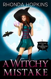 bargain ebooks A Witchy Mistake Young Adult/Teen Paranormal Cozy Mystery by Rhonda Hopkins