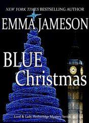 amazon bargain ebooks Blue Christmas Mystery by Emma Jameson