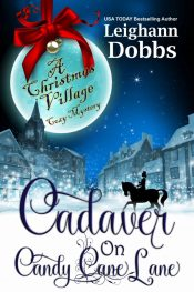 bargain ebooks Cadaver on Candy Cane Lane Cozy Mystery by Leighann Dobbs