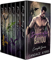 bargain ebooks Dragons of the Bayou Complete Series Paranormal Romance by Candace Ayers