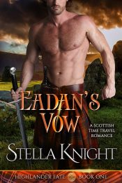 amazon bargain ebooks Eadan's Vow Time Travel Romance by Stella Knight