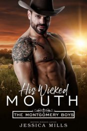 bargain ebooks His Wicked Mouth Country Western Romance by Jessica Mills