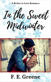 bargain ebooks In the Sweet Midwinter Sweet Contemporary Romance by F. E. Greene