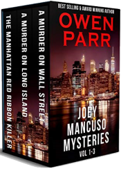 bargain ebooks Joey Mancuso Crime Mysteries: Volumes 1 - 3 (Joey Mancuso Mysteries) Mystery by Owen Parr