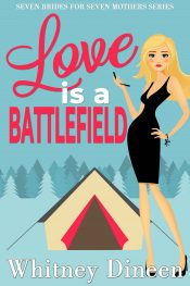 bargain ebooks Love is a Battlefield Chick Lit Romance by Whitney Dineen