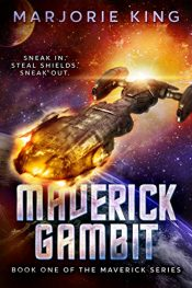 amazon bargain ebooks Maverick Gambit Western Science Fiction by Marjorie King