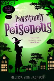 bargain ebooks Pawsitively Poisonous Paranormal Cozy Mystery by Melissa Erin Jackson