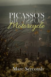 bargain ebooks Picasso's Motorcycle Historical Literary Fiction by Marc Sercomb