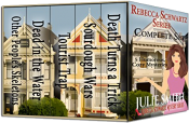 bargain ebooks Rebecca Schwartz Compete Set: Five Funny Cozy Mysteries (The Rebecca Schwartz Series) Cozy Mystery by Julie Smith