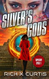 bargain ebooks Silver's Gods SciFi Thriller by Rich X Curtis