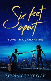 bargain ebooks Six Feet Apart: Love in Quarantine Erotic Romance by Elena Greyrock