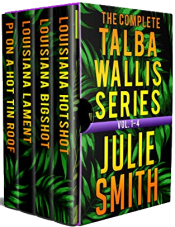 bargain ebooks The Complete Talba Wallis Series: Vol. 1-4 Mystery by Julie Smith