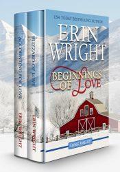 bargain ebooks Beginnings of Love: A Western Romance Boxset Contemporary Western Romance by Erin Wright