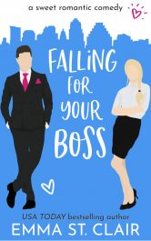 bargain ebooks Falling For Your Boss Romantic Comedy by Emma St. Clair