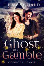 bargain ebooks Ghost of a Gamble Paranormal Romantic Fantasy by J. E. McDonald