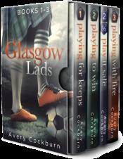 bargain ebooks Glasgow Lads: Books 1-3 LGBTQ Romance by Avery Cockburn