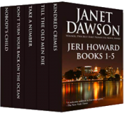 bargain ebooks The Jeri Howard Anthology: Books 1-5 Mystery by Janet Dawson
