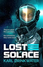 bargain ebooks Lost Solace Science Fiction Adventure by Karl Drinkwater