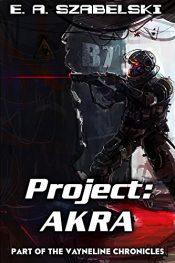 bargain ebooks Project: AKRA Science Fiction by E. A. Szabelski