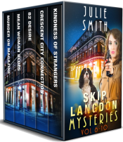 bargain ebooks Skip Langdon Mystery Series Vol. 6-10 : Five Gripping Police Procedural Thrillers Mystery Thriller by Julie Smith