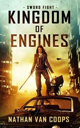 bargain ebooks Sword Fight: Kingdom of Engines Book 1 Young Adult/Teen Modern Medieval Adventure by Nathan Van Coops