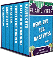 bargain ebooks The Dead-End Job Mysteries: Volume 8 - 13 Mystery by Elaine Viets