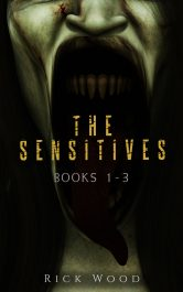 bargain ebooks The Sensitives Books 1-3 Paranormal Horror by Rick Wood
