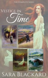 bargain ebooks Vestige in Time: The Complete Christian Time Travel Series Romance by Sara Blackard
