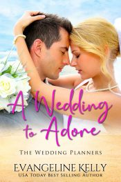 bargain ebooks A Wedding to Adore Christian Romance by Evangeline Kelly