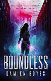 amazon bargain ebooks Boundless Superhero Science Fiction Adventure by Damien Boyes